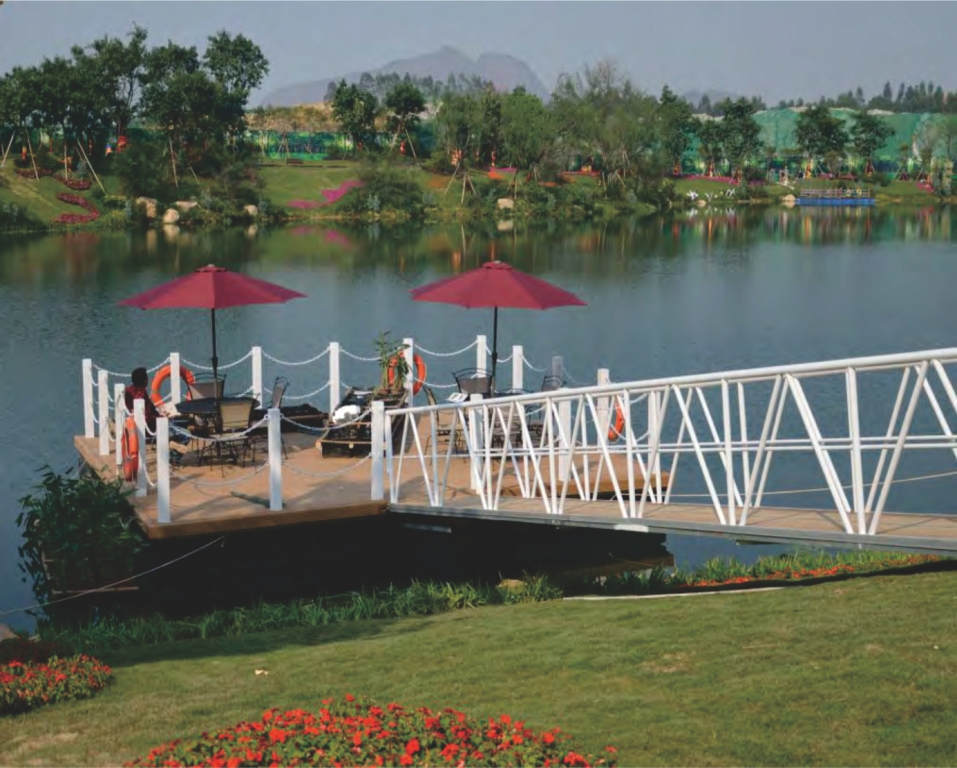 Dermaga Jembatan Apung Alumina 52