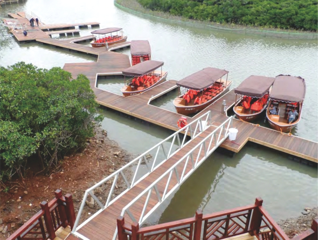 Dermaga Jembatan Apung Alumina 54