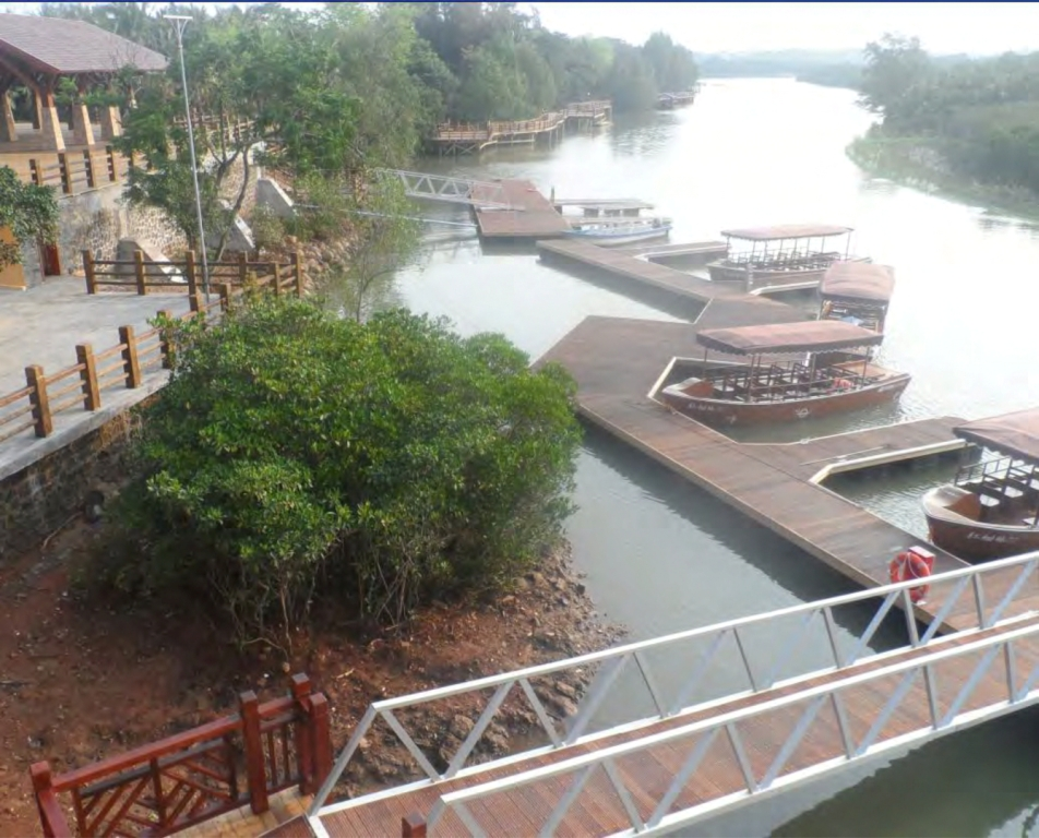 Dermaga Jembatan Apung Alumina 55