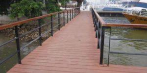 Fixed bridge DERMAGA ALUMINA