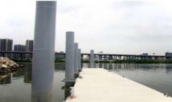 Concrete system pontoon dermaga alumina