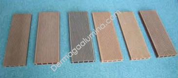 wood-plastic composite dermaga aluna